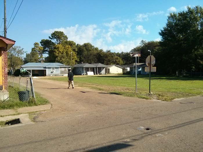 Shotgun houses in Baptist Town