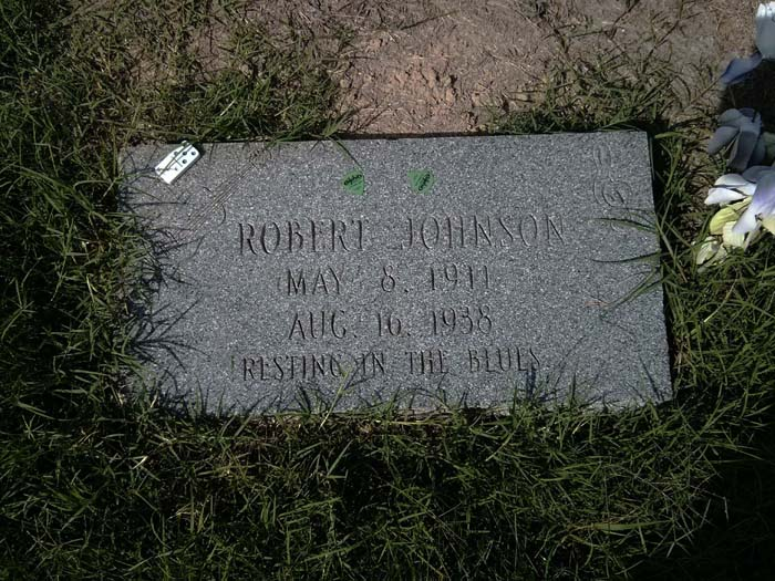 The first Robert Johnson 'grave' near Quito