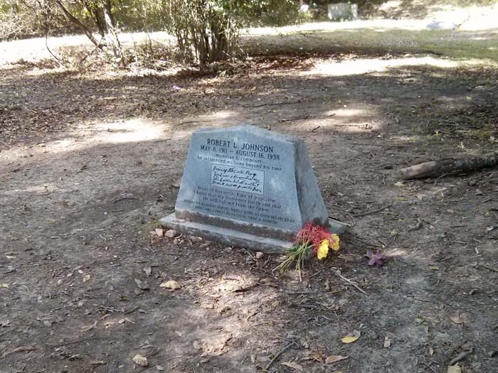 Robert Johnson's true grave marker