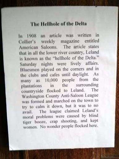 Leland, the hellhole of the Delta