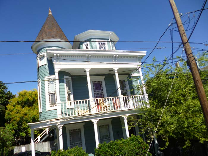 A view from around New Orleans' Garden District