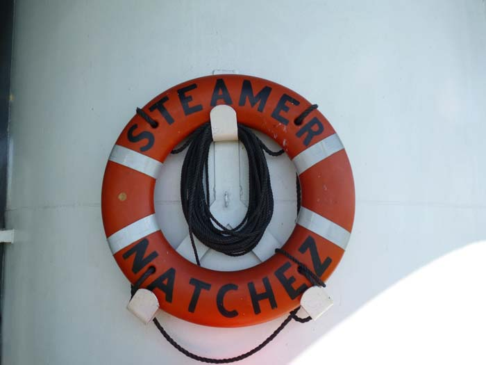 Steamer Natchez life ring