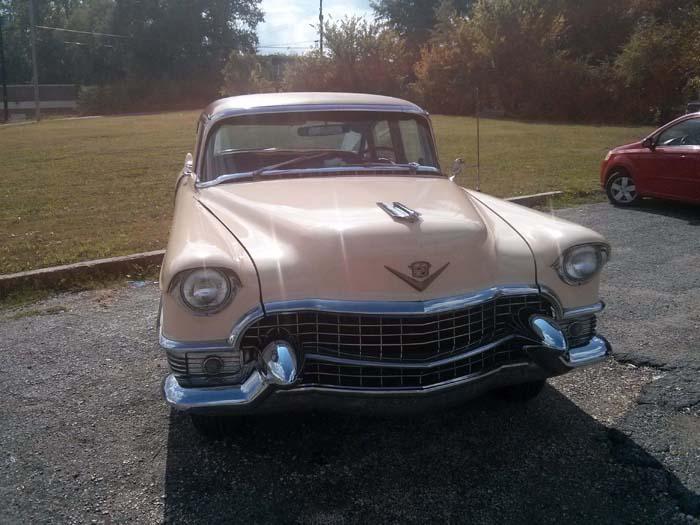 Tad's pink Cadillac