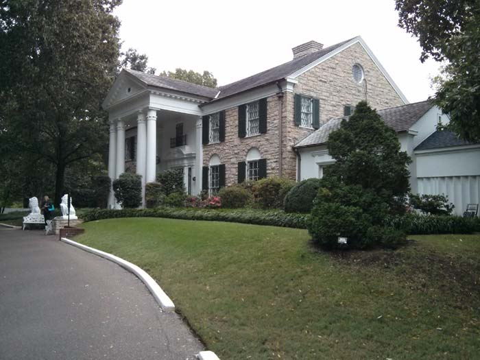 Graceland, the house