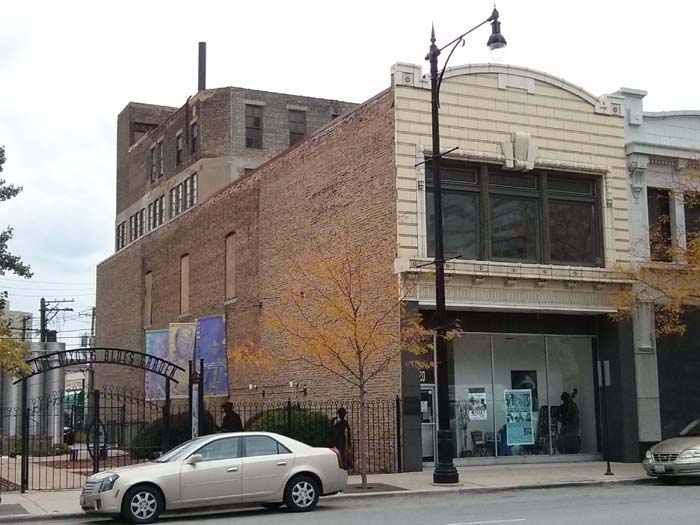 Chess Records building in Chicago