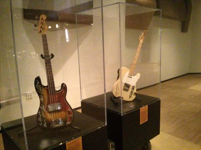 "Donald ""Duck"" Dunn's bass and Steve Cropper's guitar in Studio A at Stax"