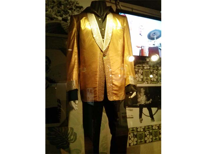 Elvis' gold lame jacket