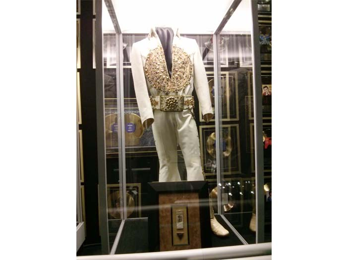 An Elvis jumpsuit from the Vegas shows