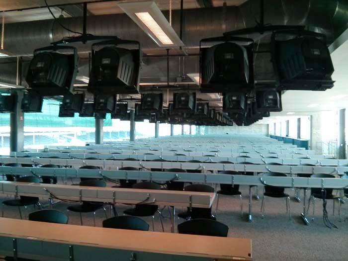 Media Centre of the Indianapolis Motor Speedway