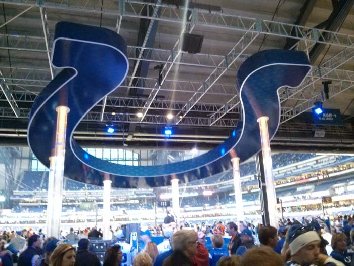 Inside Lucas Oil Stadium