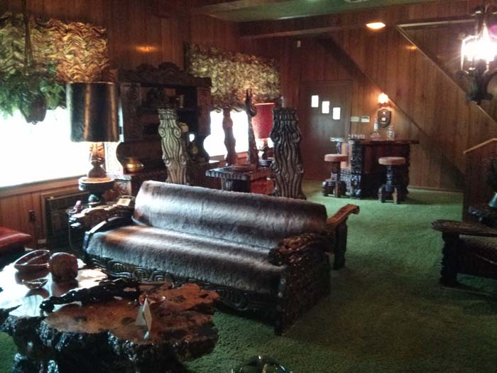 Jungle Room at Graceland