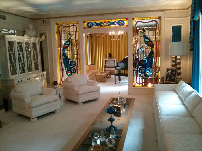 Living Room inside Graceland