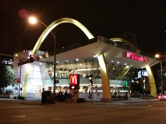 McDonald's on N Clark St, Chicago