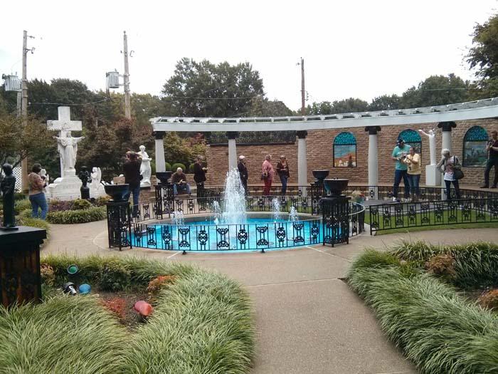 The Meditation Garden at Graceland
