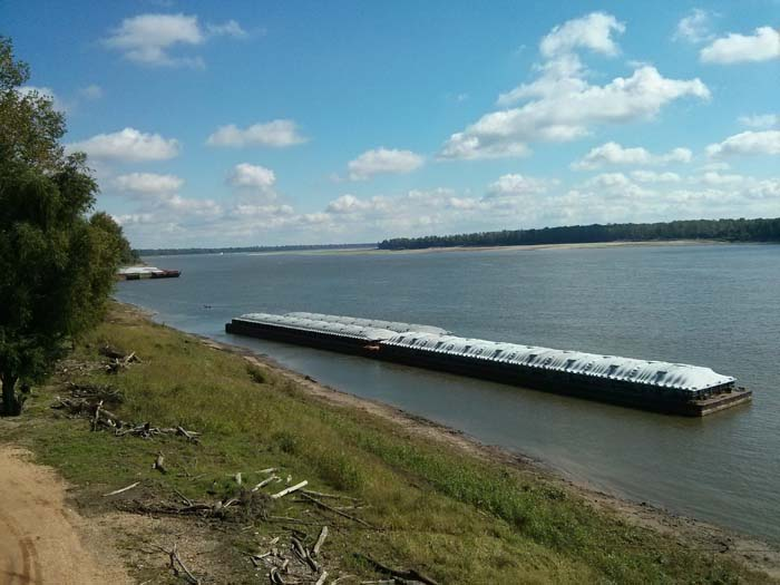 The Mississippi River at New Madrid