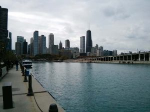 A view from Navy Pier, Chicago