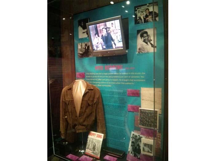 Otis Redding's suede stage jacket