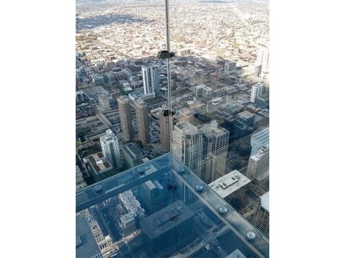 View from the Skydeck Ledge