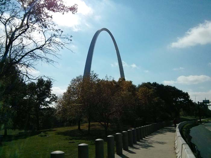 The Gateway Arch at St Louis