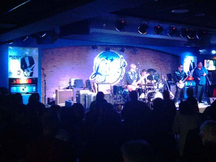Terry Davidson and the Gears at Buddy Guy's Legends club