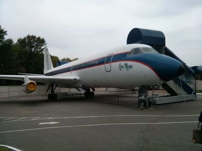 The Lisa Marie, a Convair 880