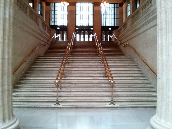 Inside Union Station, Chicago