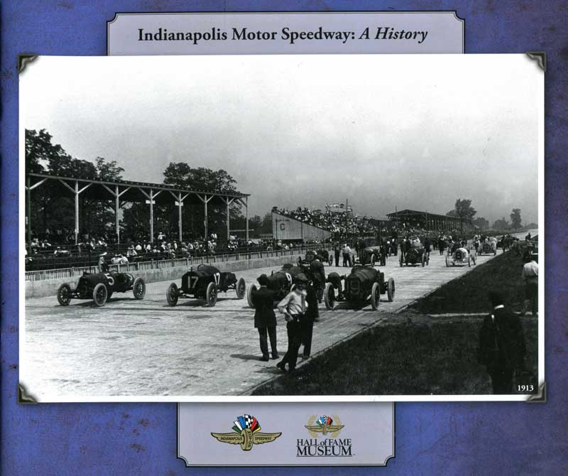 Image of the Indianapolis Speedway Grounds Tour booklet