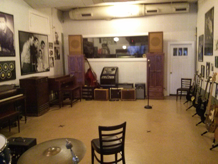 Sun Studio as seen from the door leading off the front office