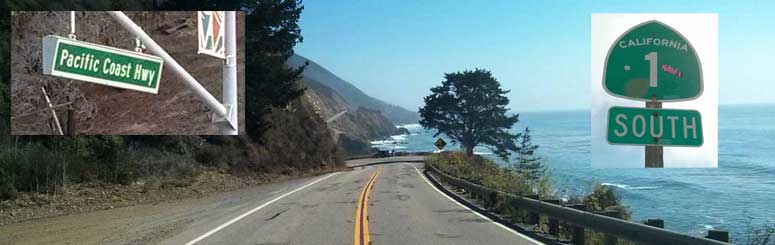Pacific Coast Highway images