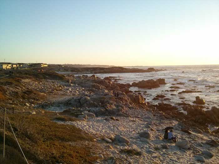 Asilomar Beach looking south