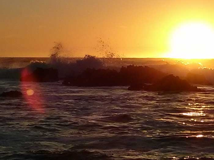 Sunset at Asilomar Beach