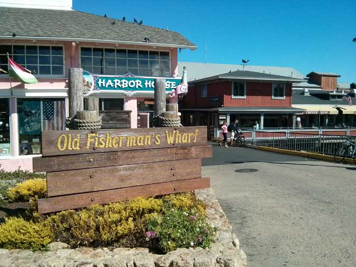 Fishermans's Wharf in Monterey