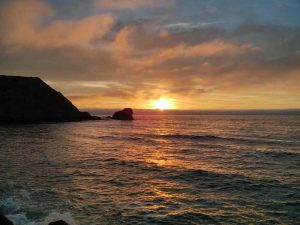 Sunset at Rockaway Beach, Pacifica