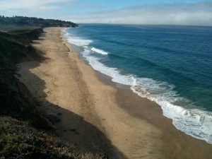 Coastal view south of Pacifica