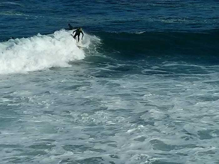 Surfer at Point Joe