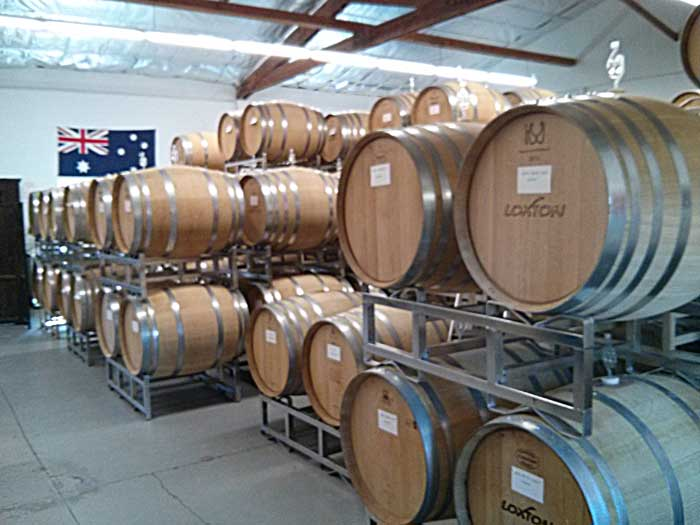 Inside Loxton Cellars