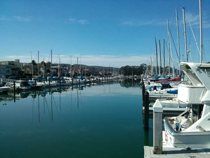 San Francisco Marina Yacht Harbor