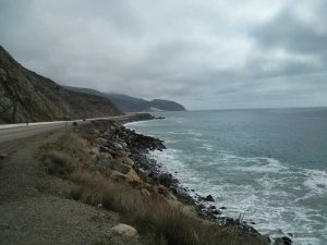 Coastal view south at Point Mugu