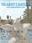 Hearst Castle ticket