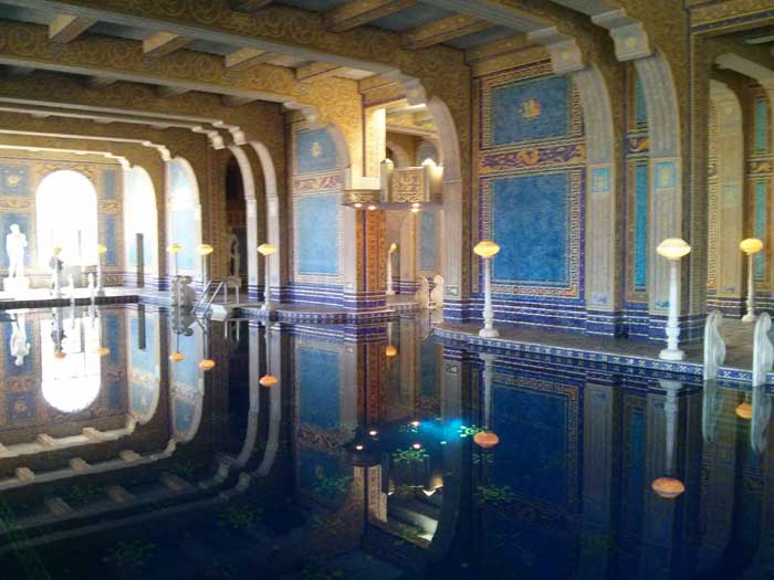 Indoor Roman Pool - Hearst Castle