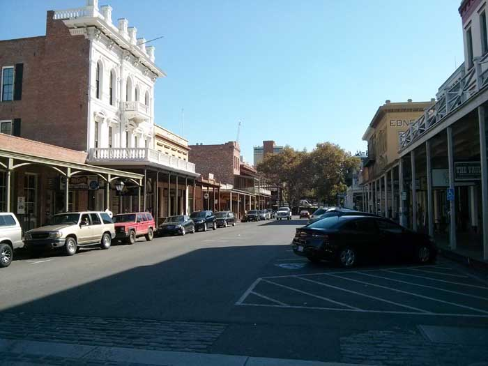 View of Old Sacramento