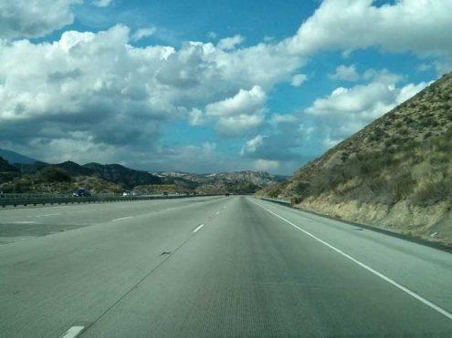 San Emigdio Mountains on I-5N