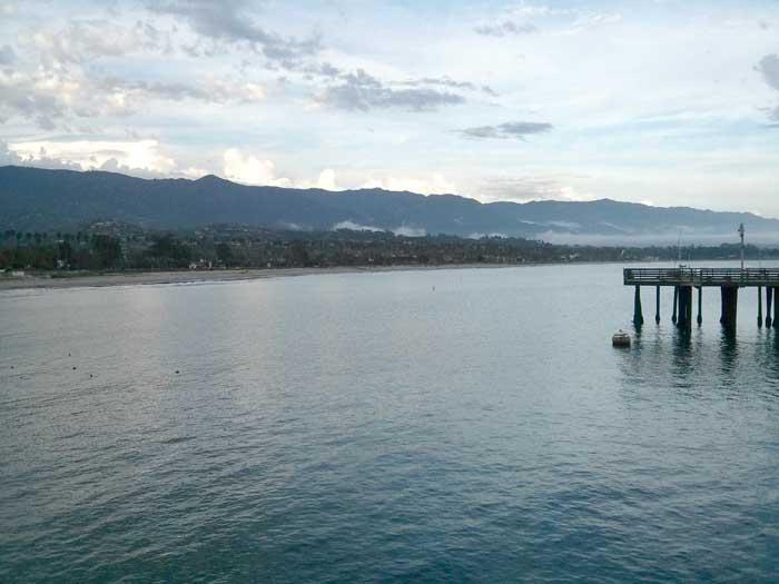 Santa Barbara seafront