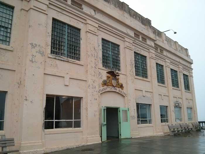 Alcatraz Prison Administration Building