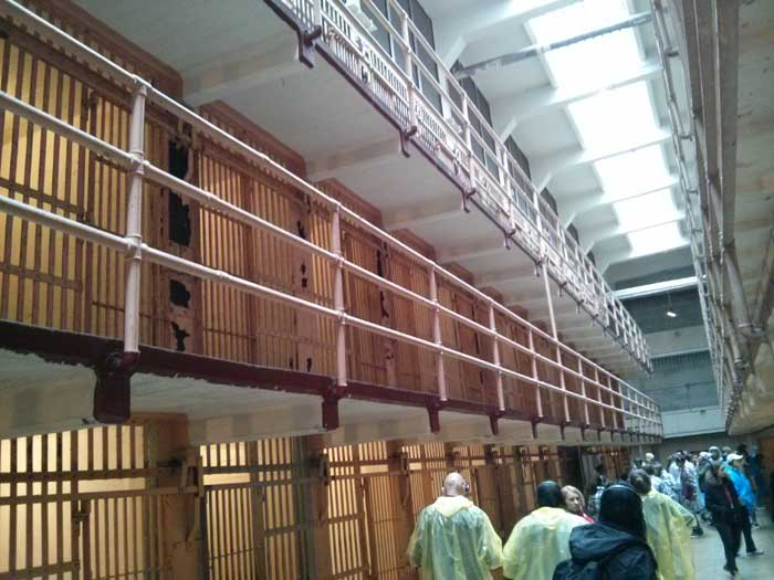 Inside Alcatraz Cellhouse