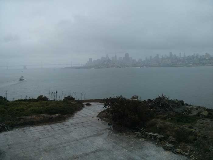 View of San Francisco from Alcatraz Island