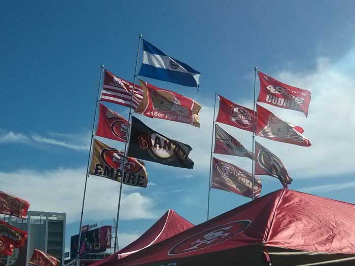 49ers Tailgate Party