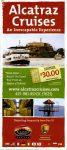 Alcatraz Cruises leaflet