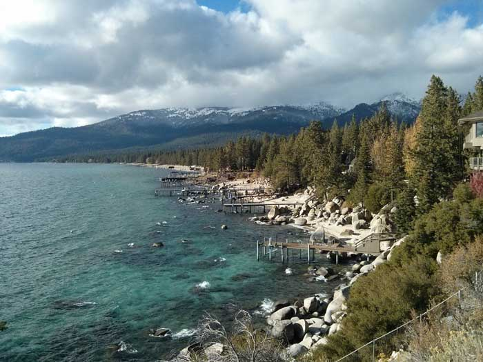 Crystal Bay on Lake Tahoe