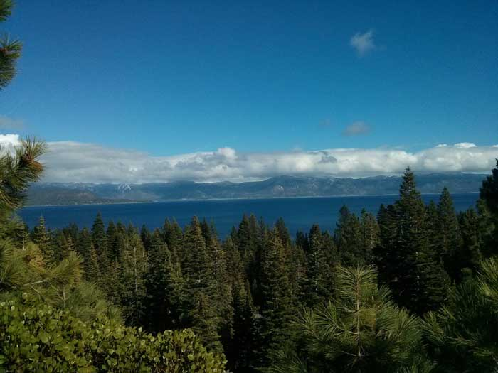 Lake Tahoe from the west side